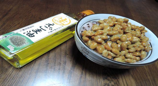 エゴマ納豆