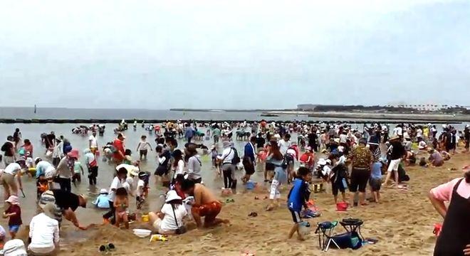 関西の潮干狩りスポット