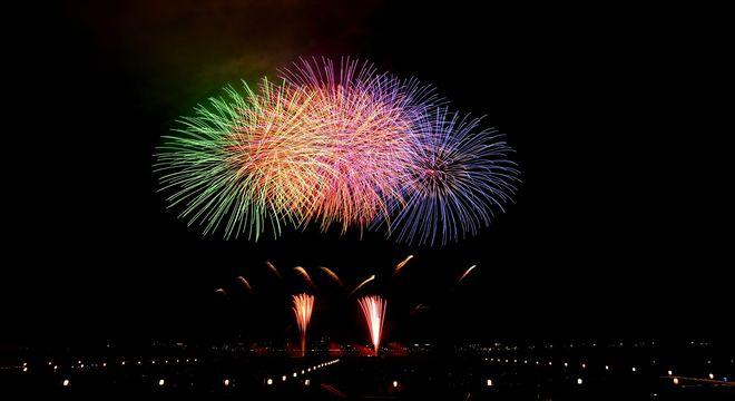 福岡の花火