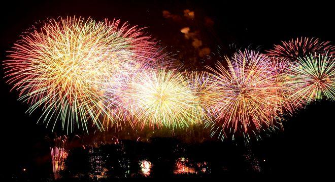 広島の花火