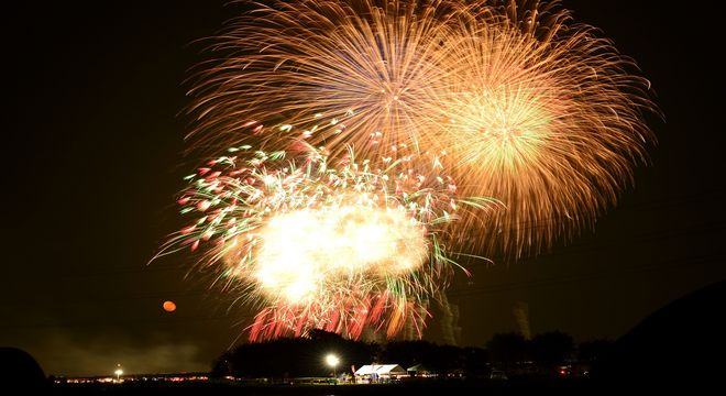 京都の花火
