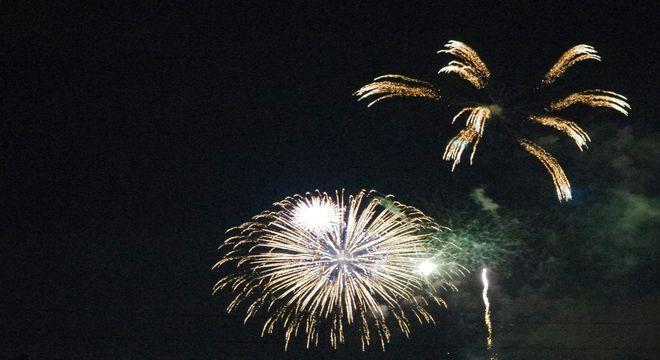長野の花火
