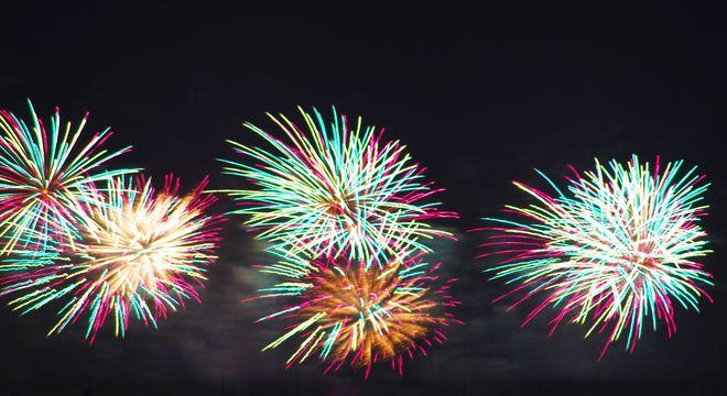 山梨の花火