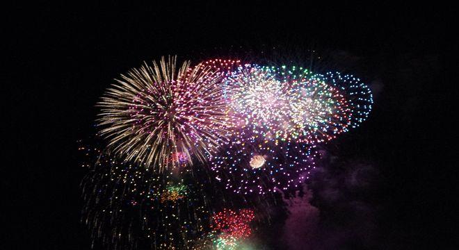 福島の花火