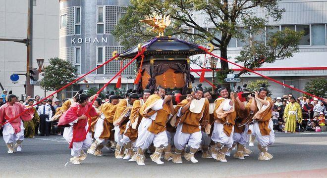 宮崎県の秋祭り