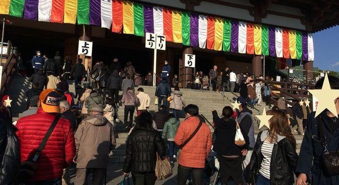 西新井大師(初詣の混雑状況)