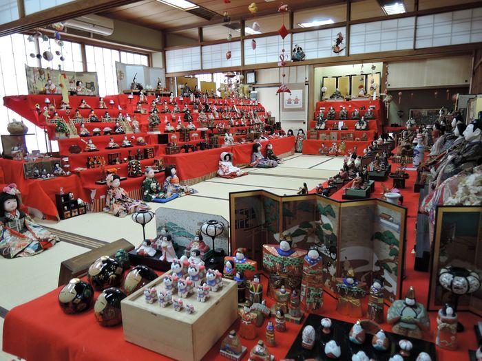 ひな人形展示|越谷香取神社