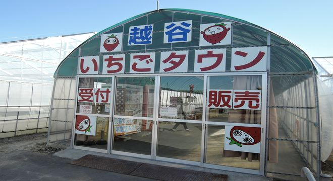 越谷いちごタウン(埼玉県越谷市)