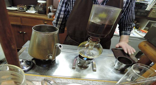 サイフォンコーヒーの店|南越谷・きっちゃてん