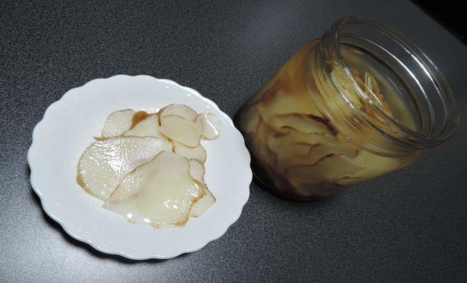 菊芋酢漬け