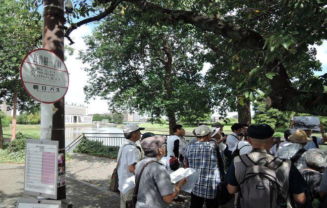 瓦曽根村の石仏と歴史散歩