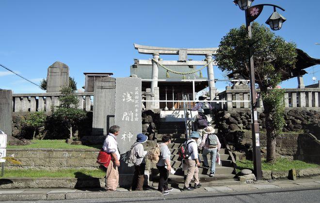 幸手の神社|浅間神社