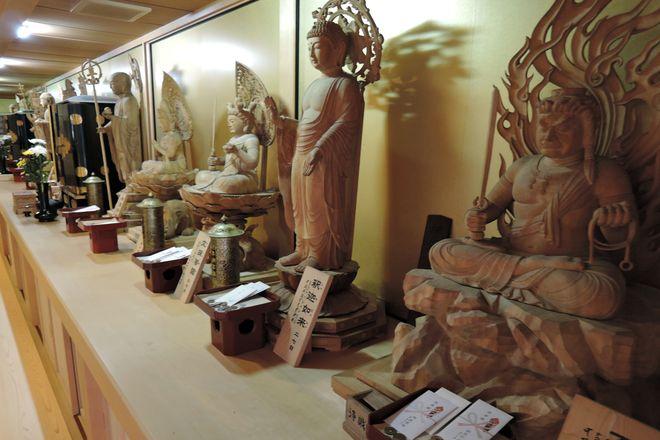 杉戸不動尊宝性院の十三仏